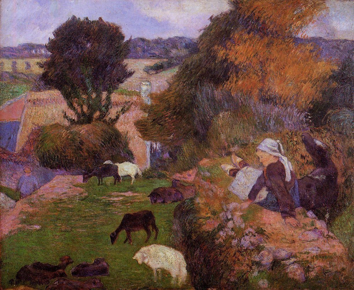 Breton shepherdess 1886 laing art gallery newcastle upon